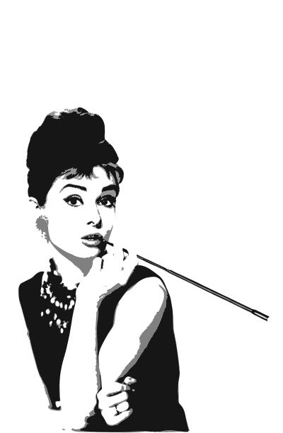 Audrey Hepburn για Ξένια